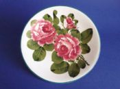Lovely Wemyss Ware 'Cabbage Roses' Cake Plate c1910